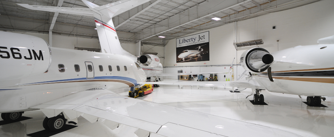 Liberty Jet Management Hangar