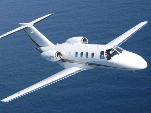 Citation CJ1 exterior