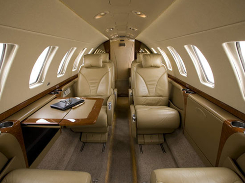 Citation CJ3 Interior