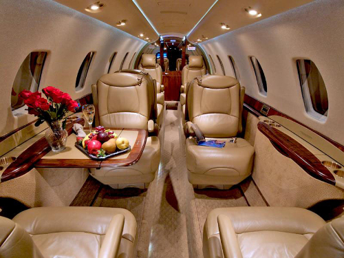 Citation Sovereign Interior