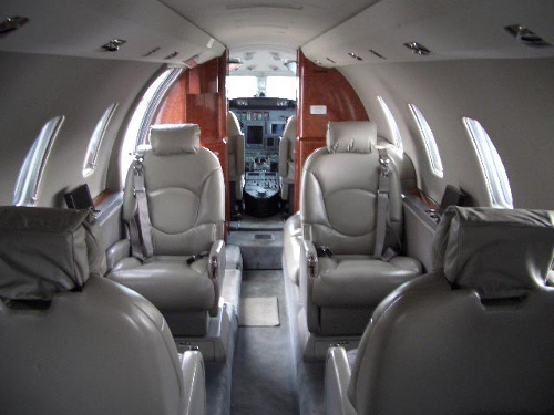 Citation XL Interior