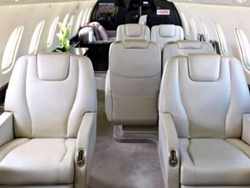 Embraer Legacy 600 Interior