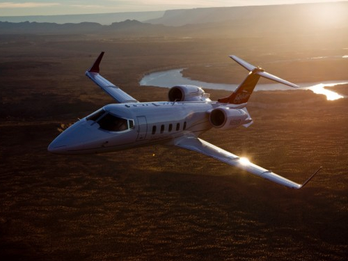 LearJet 60 Exterior