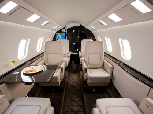Lear 60XR Interior