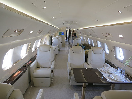 Embraer Lineage Interior