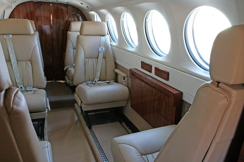 King Air 300 Interior