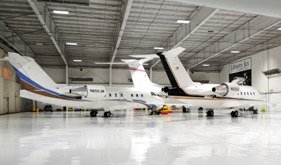 private jet fleet